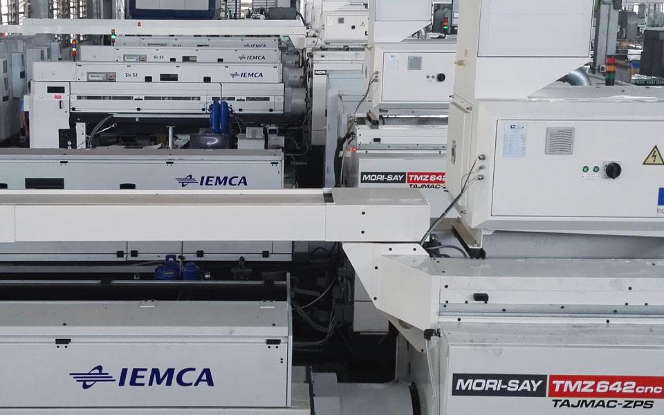 IEMCA SIR - TAJMAC MORI-SAY TMZ 642 CNC