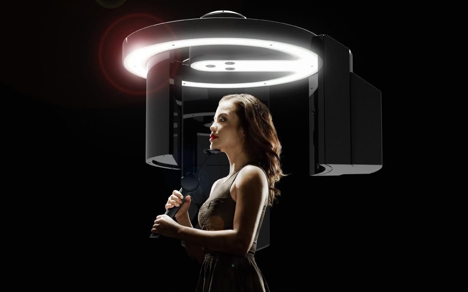 3Shape X1 CBCT scanner in carbon fiber