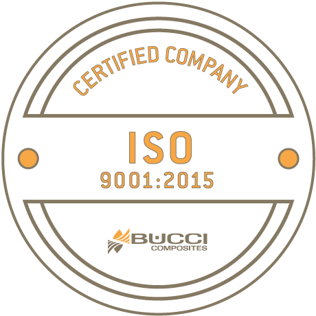 bucci composites iso 9001 certification