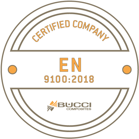 bucci composites iso 9100 certification