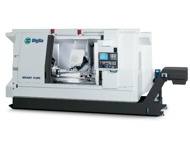 biglia centro di tornitura tornio cnc smart turn