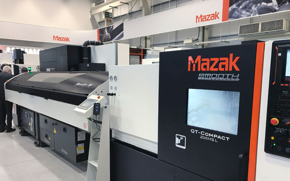 MAESTRO 80 - MAZAK QT COMPACT 200M SL