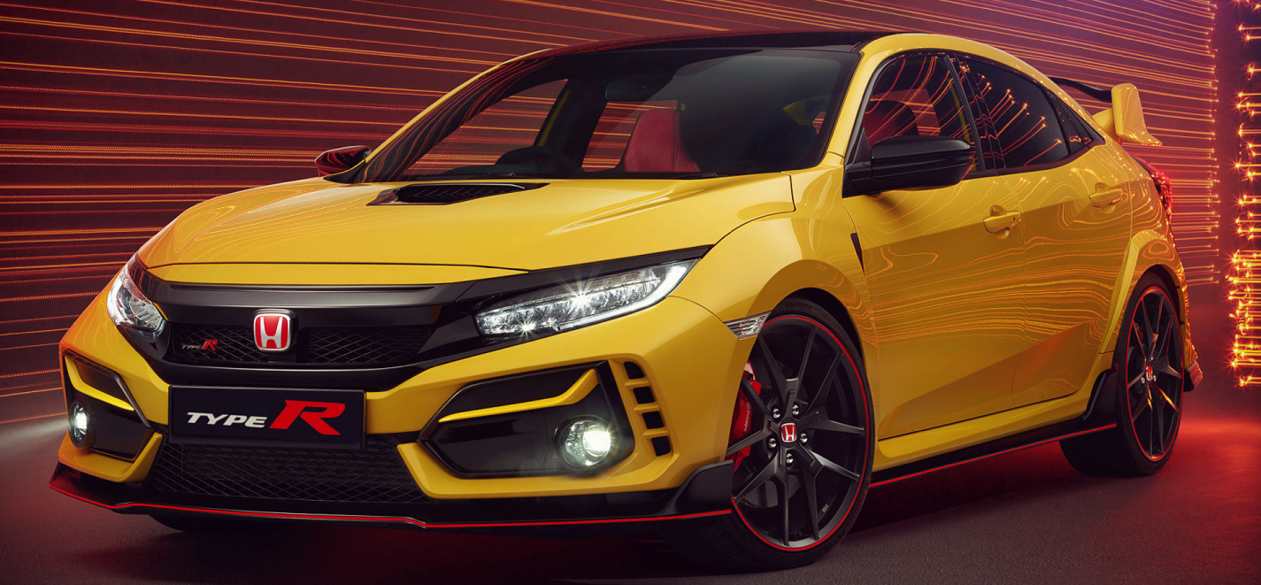 3 Honda Civic Type R Limited Edition